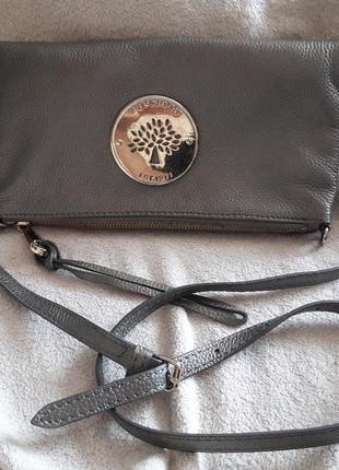 Mulberry crossbidy кроссбоди кожаная сумка кожаный клатч