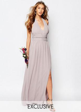 Шикарное платье tfnc london