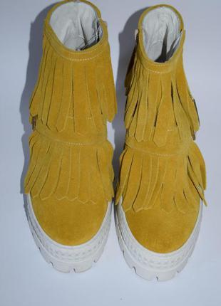 """Ботинки на скрытой танкетке l""""estrosa made in italy"""