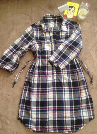 Рубашка-платье h&m