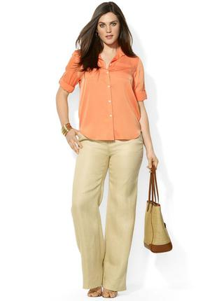 Xl ! роскошные льняные брюки, новые.