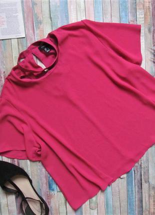 Яркая блузка с чокером