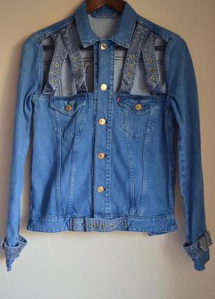 Такая будет только у вас 💫джинсовка джинсовая куртка levi's