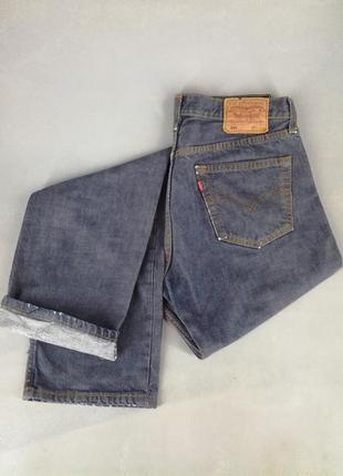 Мужские джинсы levis 501w34l345 фото