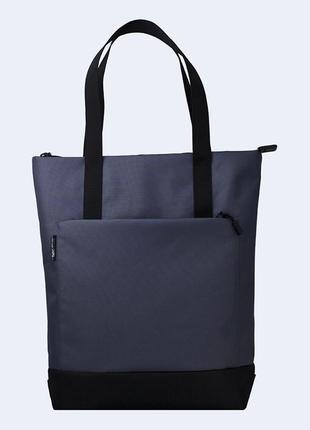 Серая женская сумка шоппер
