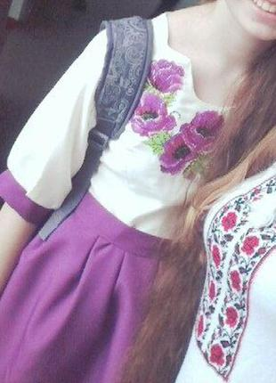 Вышитое платье, вишита сукня