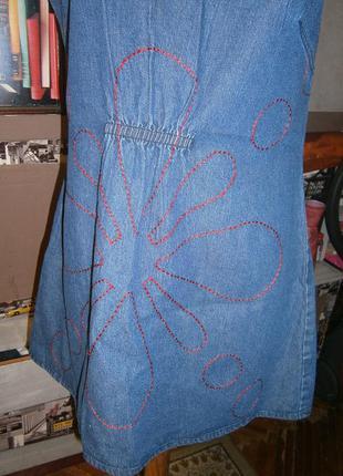 Интересная джинсовая туника lee cooper