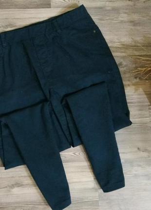 Стильные джинсы скинни на резинке,джеггиинсы с высокой посадкой