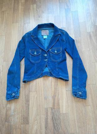 Джинсовку джинсовый пиджак xs- s
