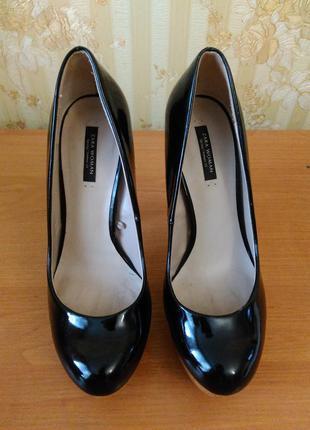 Туфли на высоком каблуке zara