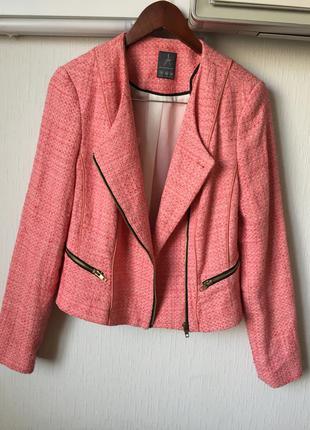Жакет пиджак в стиле шанель