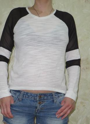 Легкая блуза кофточка tally weijl