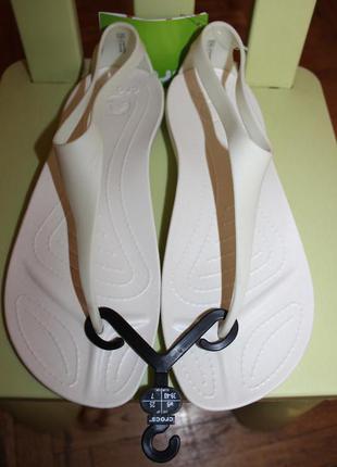 Оригинальные женские босоножки крокс sexi flip, размеры 38, 39