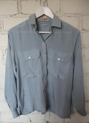 Блуза/100% шелк/s-l