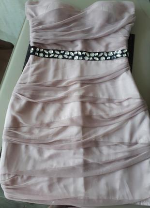 Невероятное коктельное платье     o71 распродажа
