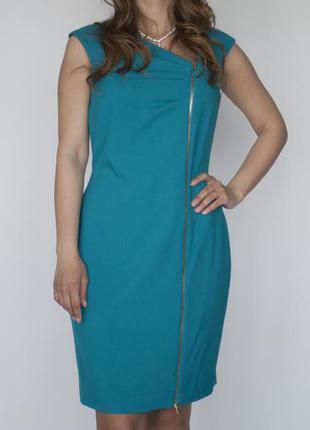 Calvin klein новое зеленое платье размер м