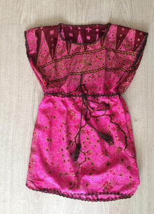 Платье-туника или пляжный сарафан
