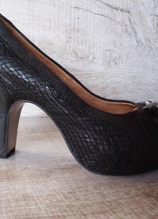 Jettee  кожаные туфли на выход