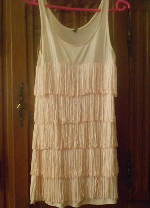 Плаття майка латина з бахромою