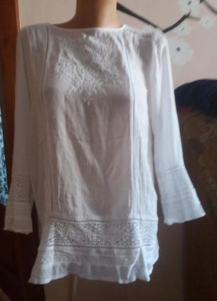 Жіноча блуза на довгий рукав