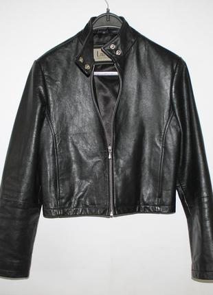Натуральная кожаная курточка, косуха