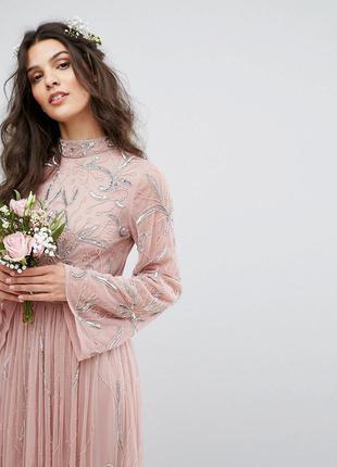 Мега розпродаж! 😍💋🌷maya розкішна сукня на випускний бісер паєтки доставка сутки
