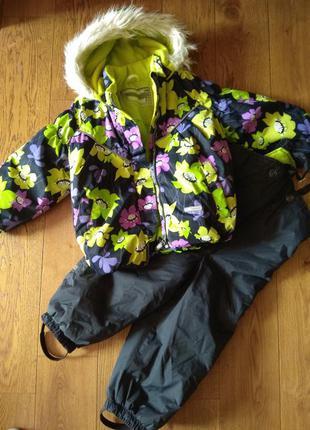 Зимний комплект(куртка +полукомбинезон) lenne elize 14313/3600 ,92+6