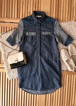 Лёгкое джинсовое платье
