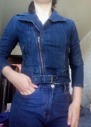 Косуха#джинсовка#куртка#короткая#лето