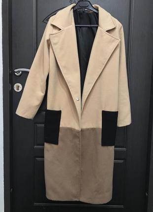 Осеннее длинное пальто