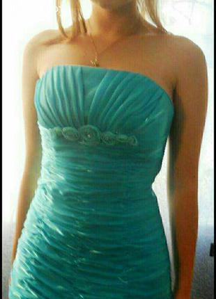 Уникальное дизайнерское вечернее корсетное платье трансформер для выпускного