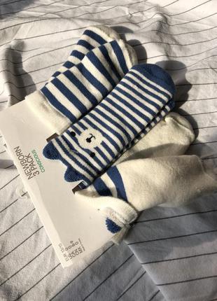 Детские носки новорожденным