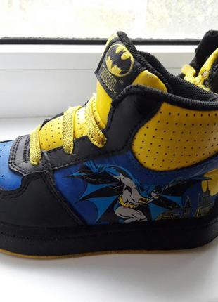 Хайтопы ботинки кросовки бетмен batman
