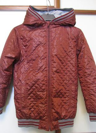 Теплая демисезонная курточка wojcik на изософте