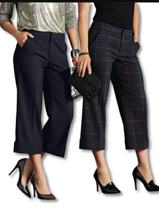 Стильные брюки кюлоты esmara.