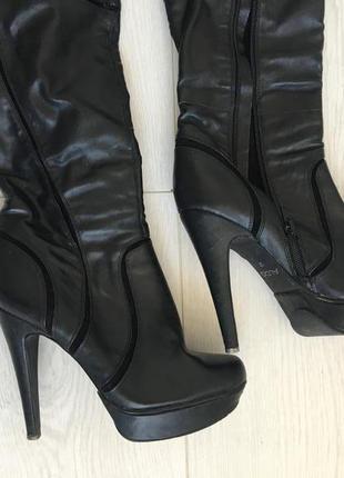 Сапоги на высоком каблуке aldo