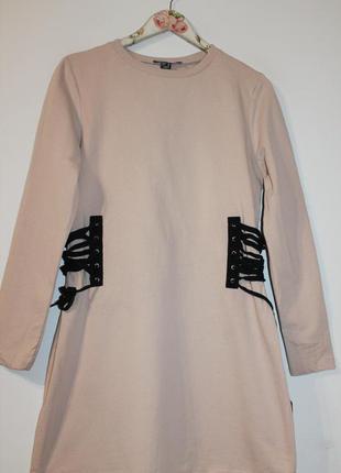 Трендовое платье свитшот atmosphere