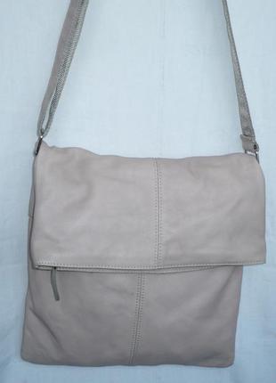 Италия оригинал вместительная кожаная сумка ручка через плечо кросс-боди