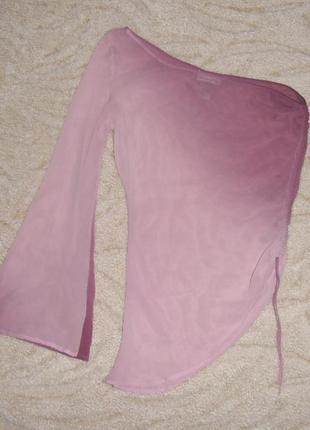 Нежная блуза-топ из натурального шелка