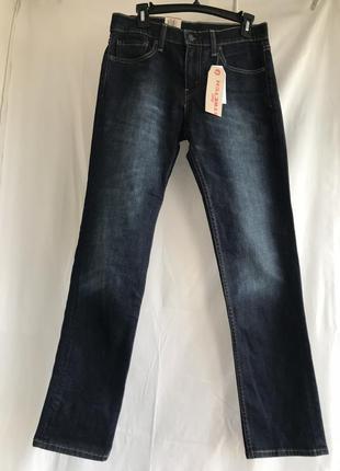 Темно-синие джинсы levis 511