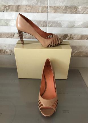 Босоножки-летние туфли via spiga из натуральной кожи