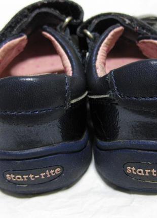 Кожаные туфли на девочку start-rite оригинал англия 22-23 размер стелька 14см х 5,5 см2