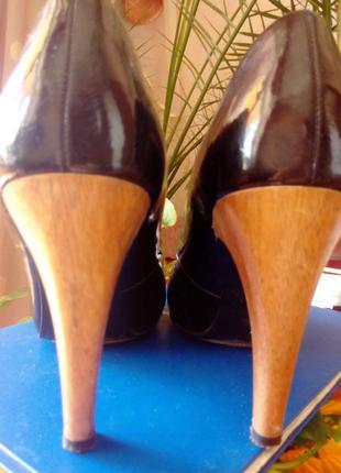 Туфли zara на каблуке
