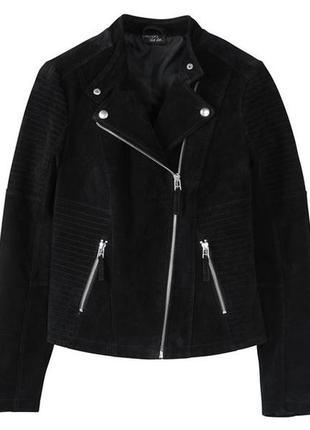Кожаная куртка esmara