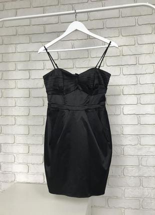 Платье h&m платье черное коктельное деловое