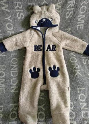 Мягкий медвежонок