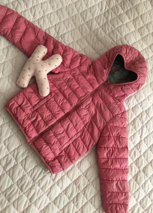 Куртка, курточка, ветровка, олимпийка, для девочки, демисезонная.