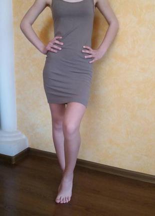 Маечное платье от h&m