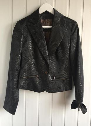 Balizza люксовый костюм из 4-х вещей: пиджак+брючки+юбка+блуза