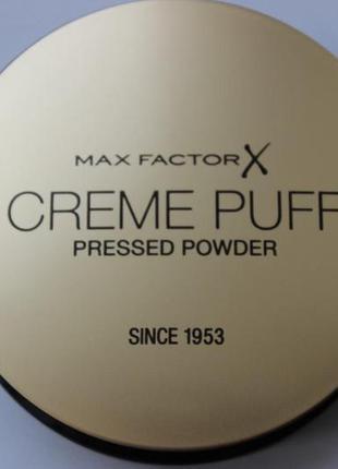 Max factor крем-пудра creme puff